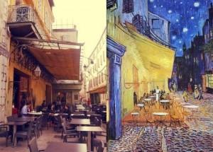 Walking on the footsteps of Vincent van Gogh in Arles